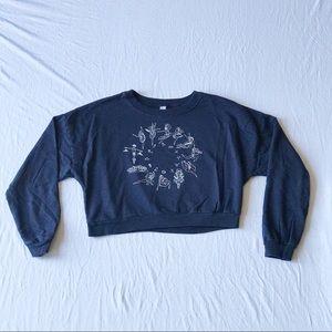Zodiac Ballet Crop Sweater